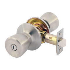 Gainsborough Contractor Villa Privacy Set. Satin Stainless Steel.